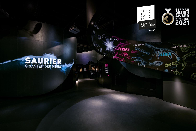Saurier Giganten der Meere, Jura, Lokschuppen Rosenheim
