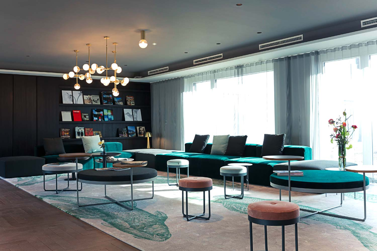 Hotellobby, Soller Businesshotel, Munich Airport